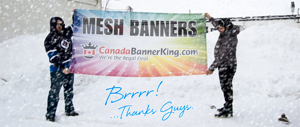 Mesh Banners - Excellent for Wind Resistance