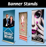 Banner Stands, Rollups & X-Banner Stands